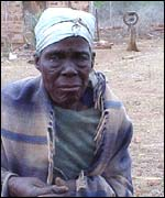 Old Swazi lady