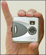 Blink digital camera