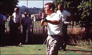 Tony Jacklin became the first Briton to win the US Open in 50 years