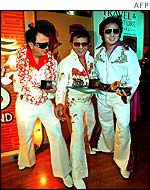 An Impersonate Elvis contest in Kuala Lumpur