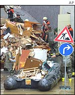 Damage in Passau