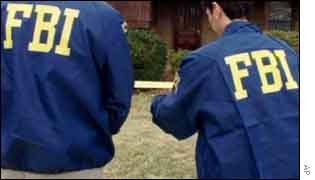 FBI agents, AP