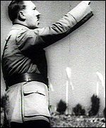 Hitler in Triumph of the Will