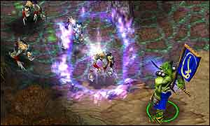 Warcraft III screenshot, Vivendi