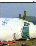 Pan Am Flight 103 at Lockerbie