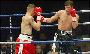 Joe Calzaghe could only manage a comfortable points victory