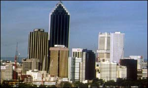 Perth skyline, BBC