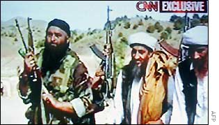 1998 video showing Bin Laden declaring war against America