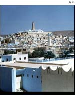 The picturesque southern town of Ghardaia