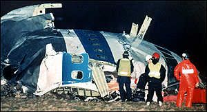 The Lockerbie bombing killed 270 people