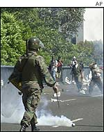 Clashes in Venezuela