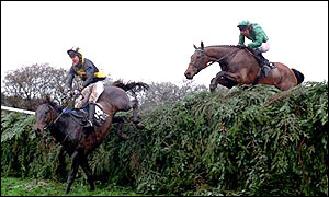 Tony McCoy on board Blowing Wind in the 2001 Grand National