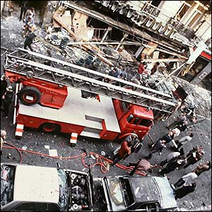1982 bombing of restaurant in Jewish quarter of Paris
