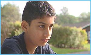 Ausameh, 11, had family in Iraq