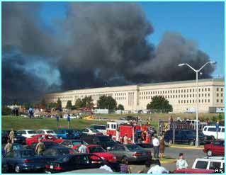 South of New York, the Pentagon was also attacked in Washington DC