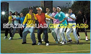 Blazin' Squad met at school