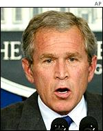 George Bush, US President