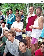 Abu Sayyaf hostages, 2000