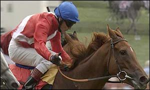 Russian Rhythm and Kieren Fallon en route to victory