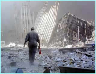 After the towers collapsed