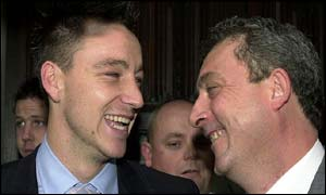 John Terry and his solicitor Steven Barker