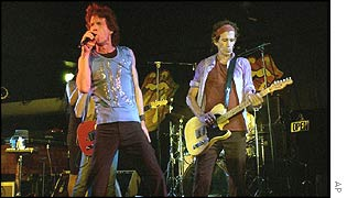 The Rolling Stones play the Palais Royale