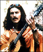 Guitarist George Harrison