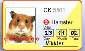 Hamster buspass