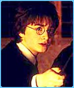 Daniel Radcliffe as Harry in the Chamber of Secrets