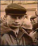 Vladimir Putin, en su juventud.