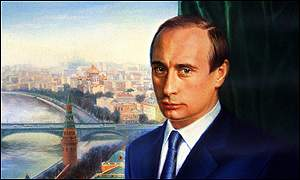 Imagen de Vladimir Putin, presidente de Rusia.