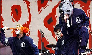 Slipknot at Reading