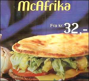 Poster for 'McAfrika' in Norway