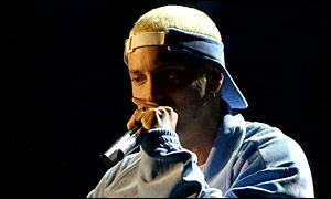 The much-pirated Eminem