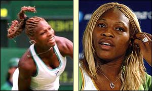 Serena has experimented with a number of hairstyles