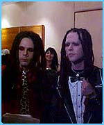 The scary boys from the Murderdolls
