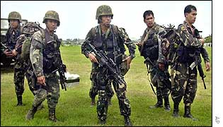 Philippines counter terrorism troops