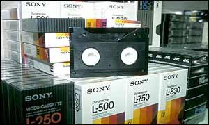 Betamax tapes