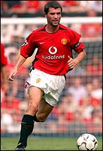 Man Utd skipper Roy Keane