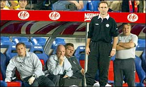Martin O'Neill looks on powerlessly