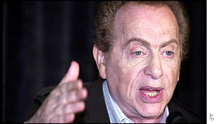 US comic Jackie Mason