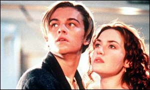 Titanic starred Leonardo DiCaprio and Kate Winslet