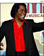 James Brown at the MTV Video awards