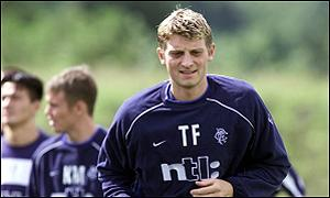 Flo in training for Rangers