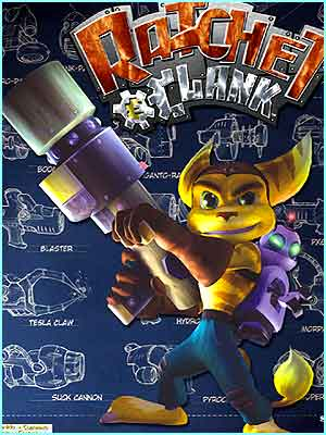 Ratchet and Clank: due November 2002. 3D action adventure set in futuristic galaxy which Ratchet has to explore