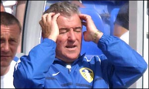 Terry Venables watches his side drop another three points