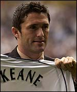 Spurs' new signing Robbie Keane