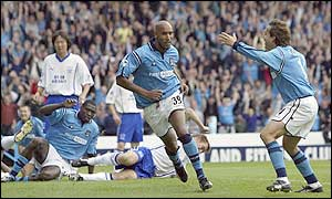 Nicolas Anelka was in great form for City