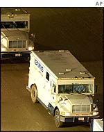 Security vans carrying gold