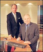 Michael Buerk, Peter Sissons